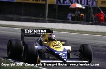 Williams FW10 Honda Turbo. Keke Rosberg. Photo.  1985 Italian GP F1